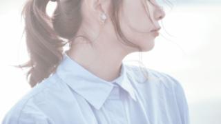 透明感ある肌の女性