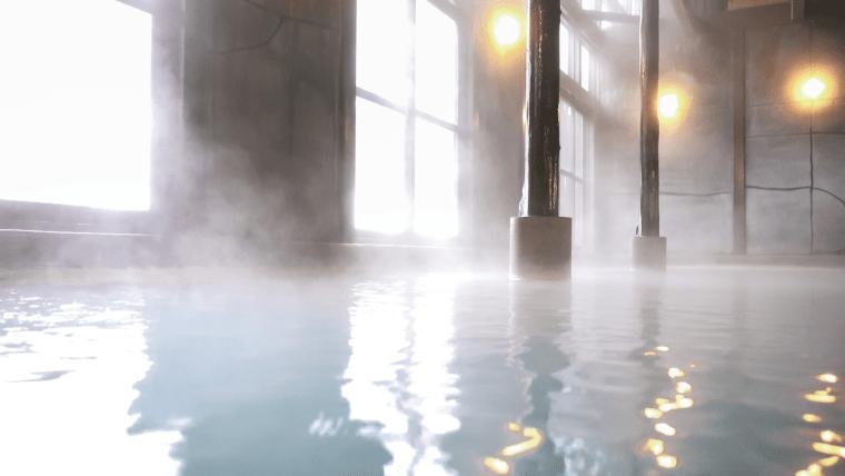 風情ある旅館の温泉
