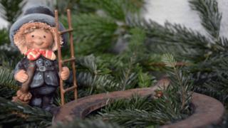 煙突掃除屋の人形
